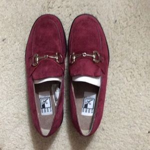 Brand New burgundy shoes